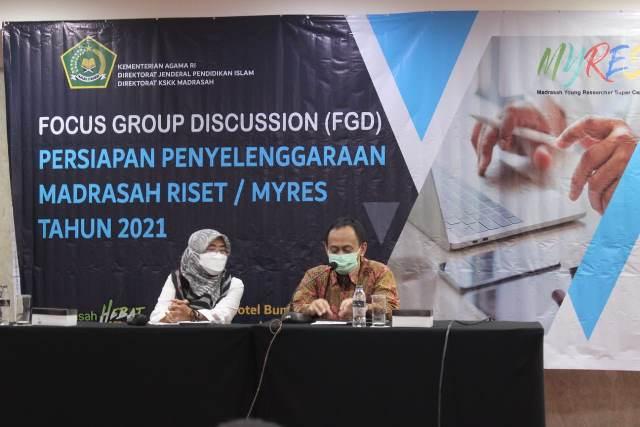 Kemenag Siapkan Madrasah Young Researches Supercamp (MYRES) Tahun 2021
