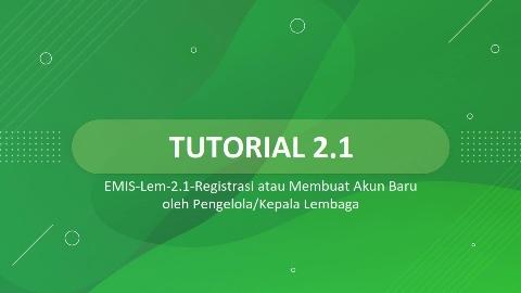 Panduan EMIS 4.0 per-17 Mei 2021
